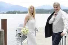 Hochzeitsfotos auf der Fraueninsel am See © Werner Blauhorn