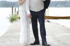 Hochzeitsfotos auf der Fraueninsel am Steg am Chiemsee © Werner Blauhorn