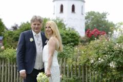 Hochzeitsfotos auf der Fraueninsel vor dem Kloster © Werner Blauhorn